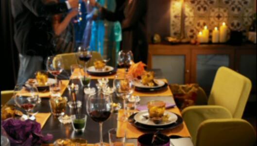 Et hyggelig bord skaper rammen rundt enhver feiring. <i>Foto: Ikea</i>