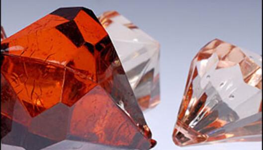 Ekte diamanter - kan være investeringsobjekter også.