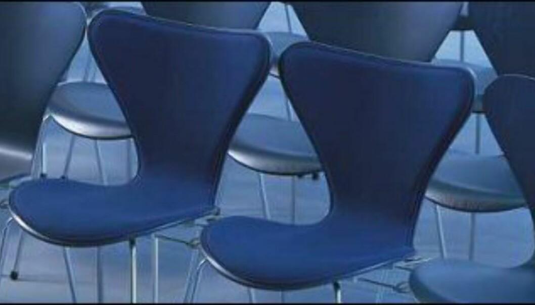 Syveren til Arne Jacobsen er et klassisk og populært møbel. <i>Foto: Fritz Hansen</i>