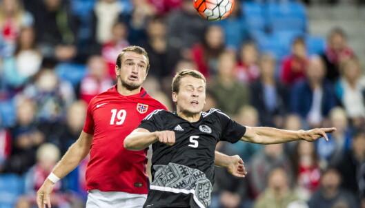 <strong>TO BRØDRE, TO NASJONER:</strong> Veton Berisha representerte Norge mot Tyskland i går, mens Valon Berisha scoret for Kosovo i dag. Foto: Hans Arne Vedlog /  Dagbladet
