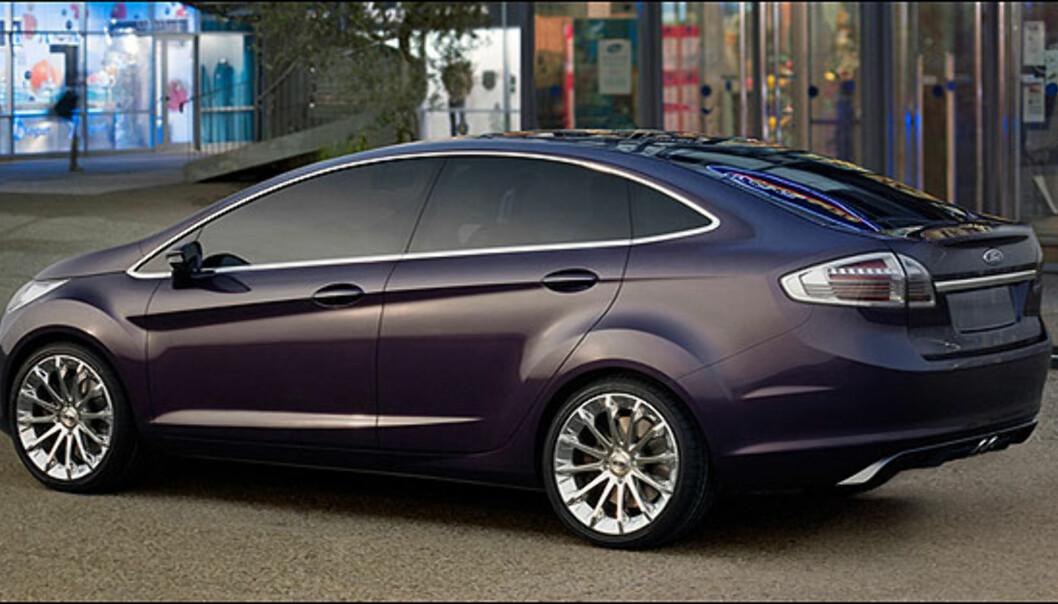 Store bilder av Ford Verve