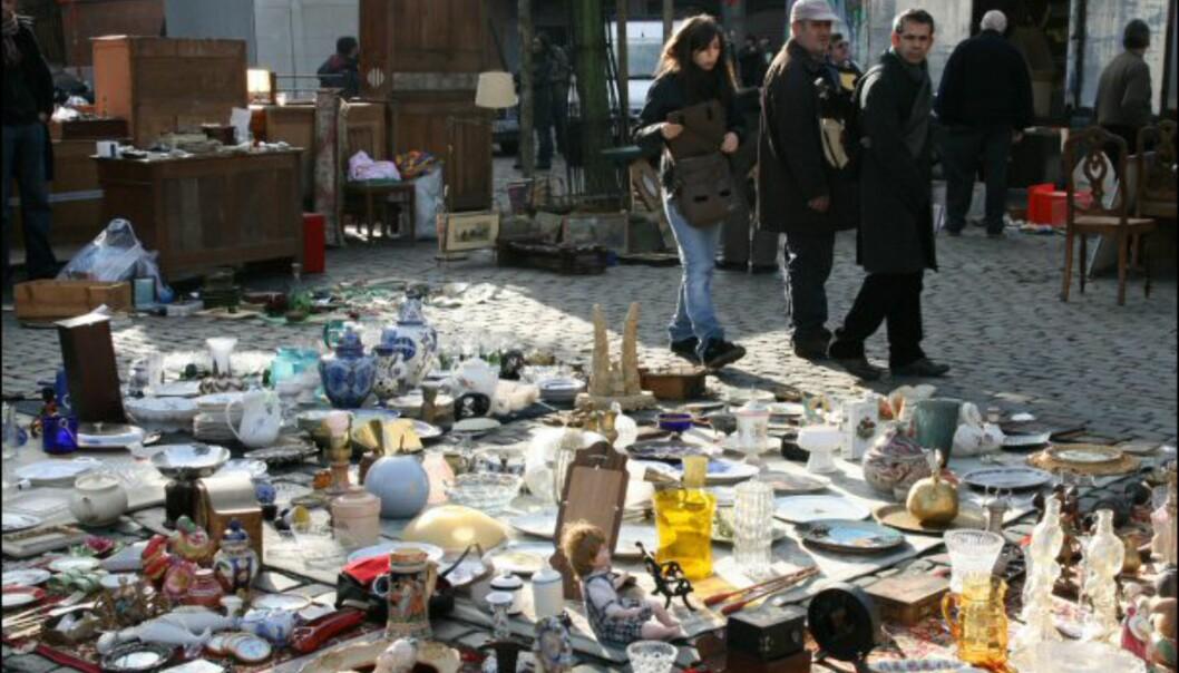 Loppemarkedet på Place du Jeu de Balle er stedet for deg som liker å gå på skattejakt. Men det er mye ræl her, også. Åpent hver dag fra 6 til 14.