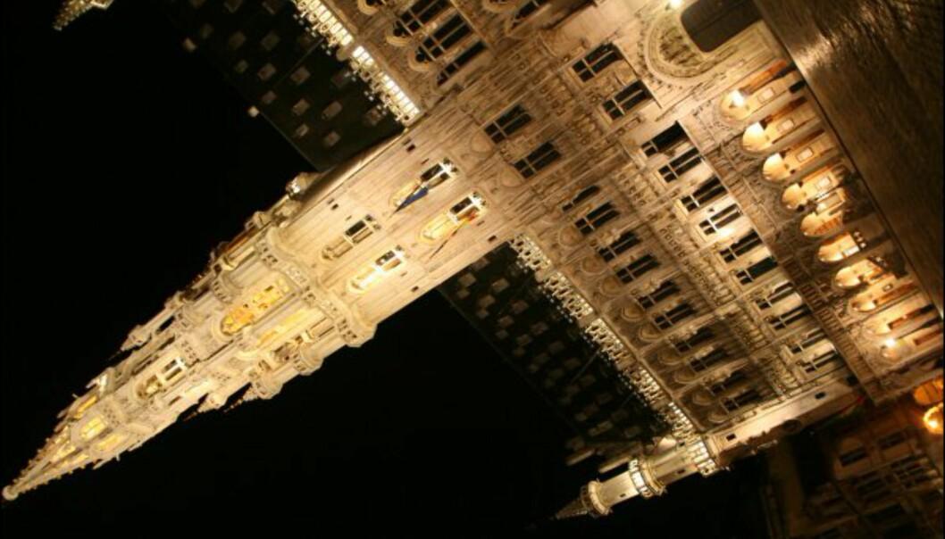 Det gamle rådhuset på Grand Place er en av Brussels mest kjente og flotteste bygninger.