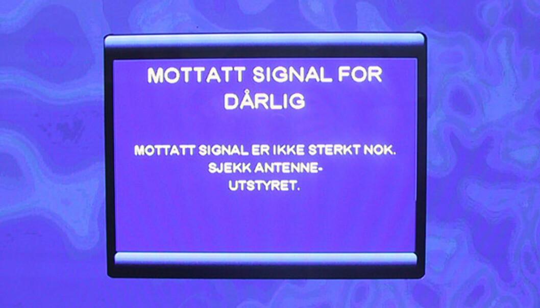 RiksTV med Sagem-mottaker