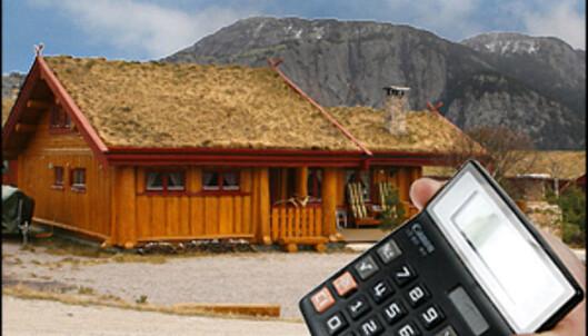 Hytteprisene øker mest, og med vår kalkulator kan du regne ut hvor mye hytten din er verdt. <i>Illustrasjon: Per Ervland</i>