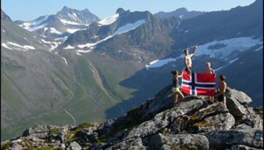 Ikke bare har vi høyere fjell, vi har også mer å rutte med enn våre naboer i sør. <I>Arkivfoto: DinSide</i> Foto: Ranveig
