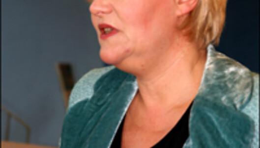 Finansminister Kristin Halvorsen. <br />  <i>Foto: Kim Jansson</i>