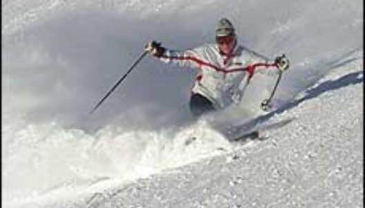 Finn fram skiene, og kom deg i bakken. Foto: Karoline Brubæk
