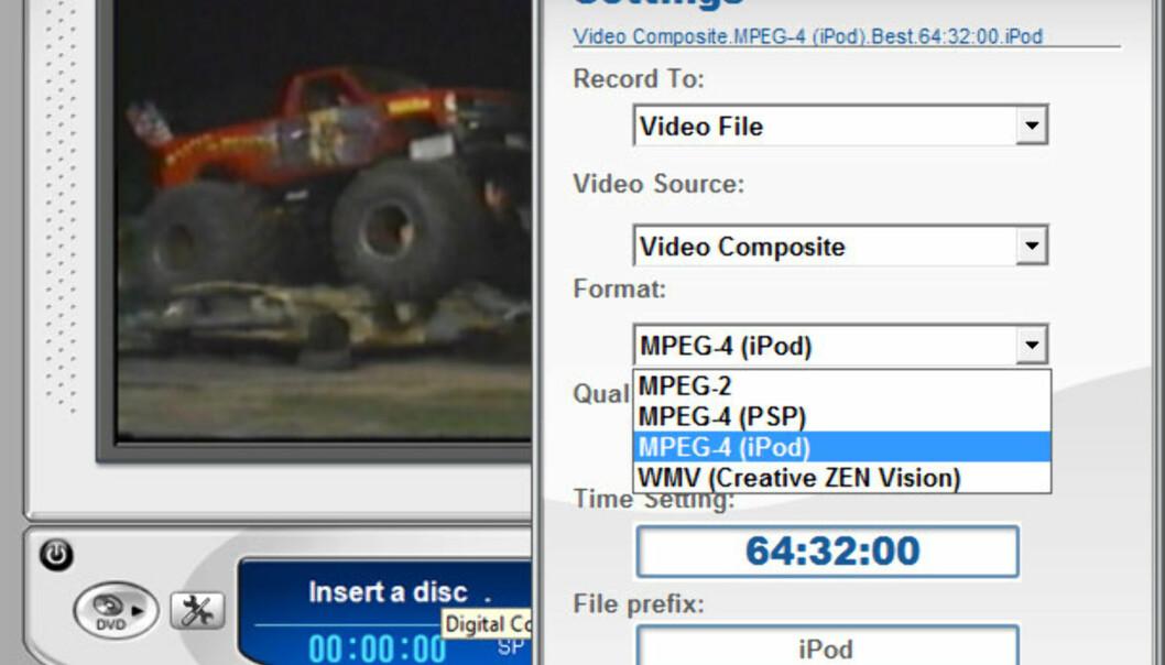 Plextor videokonvertering