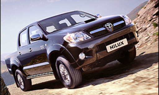 Toyota stopper Hilux-salg