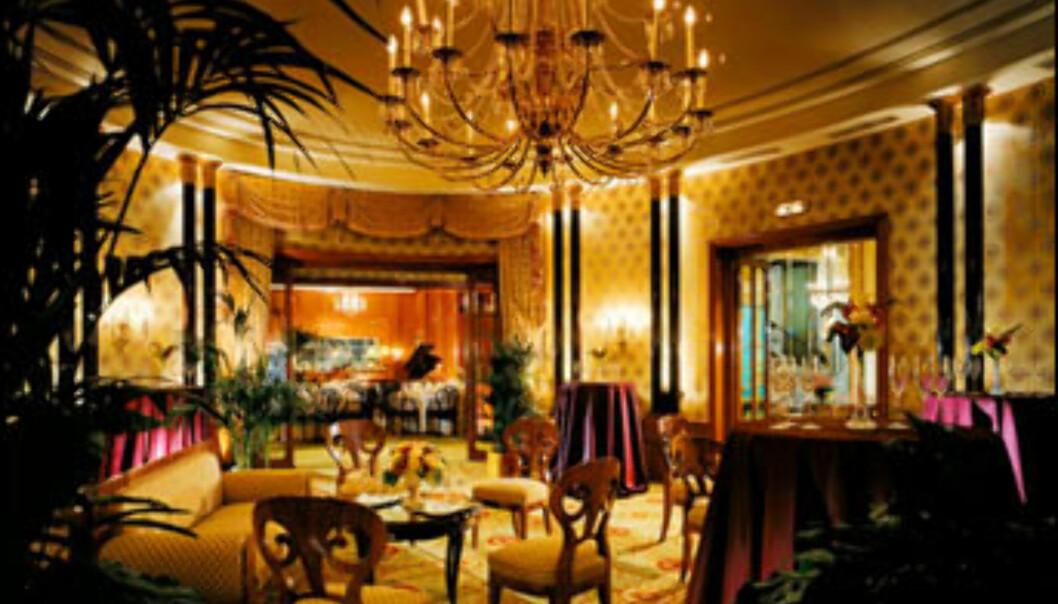 Hotel Bristol, Østerrike.