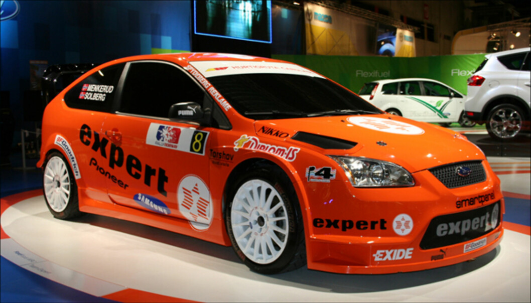 Henning Solbergs rally-Ford Focus