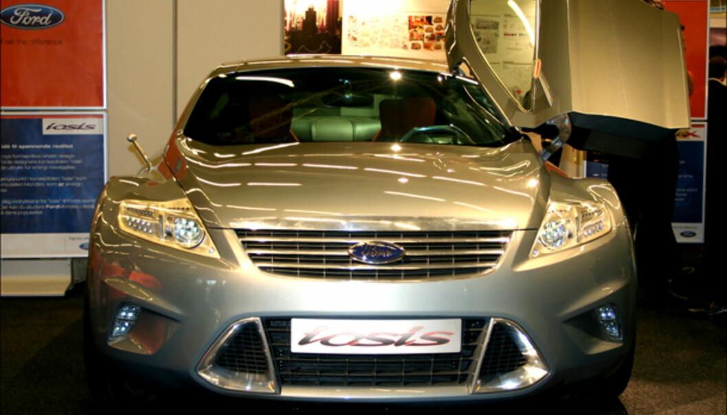 Konseptbilen fra 2005 som førte til Mondeo: Iosis, eksponent for Kinetic Design