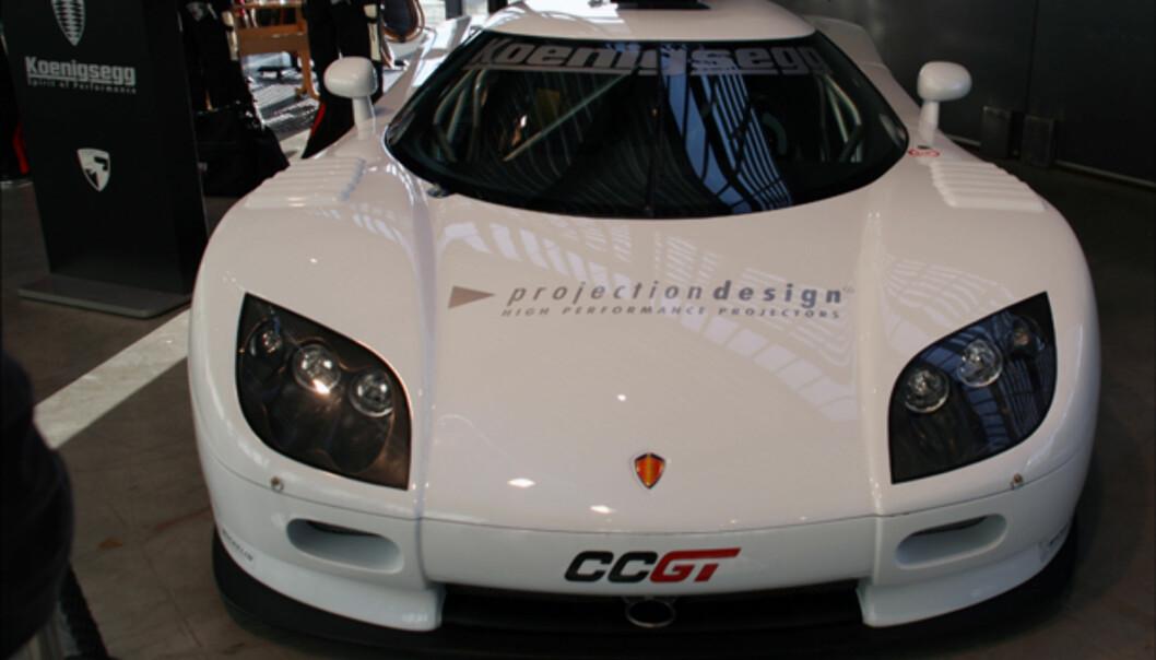 Racerbilen Koenigsegg CCGT