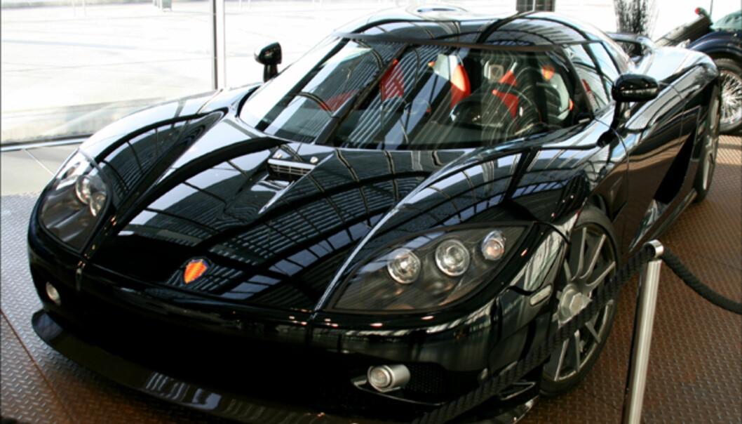 Miljøbil? Bioetanoldrevne Koenigsegg CCXR som kan produsere over 1.000 hk.