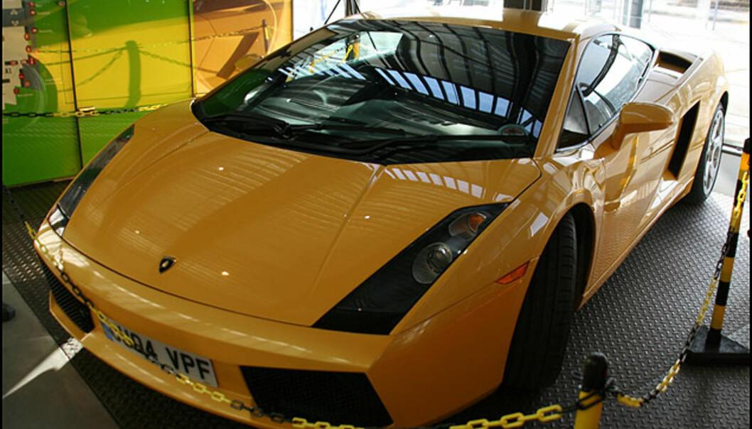 Lamborghini Gallardo. Ti sylindre, 500 hk