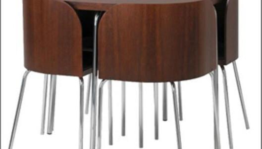 Smart og rombesparende spisebord fra Ikea. <i>Foto: Ikea.no</i>