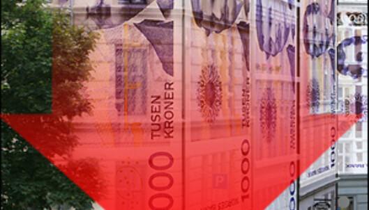 Boligprisene har gått ned med 1,2 prosent siden september. <i>Bilde: Per Ervland.</i>