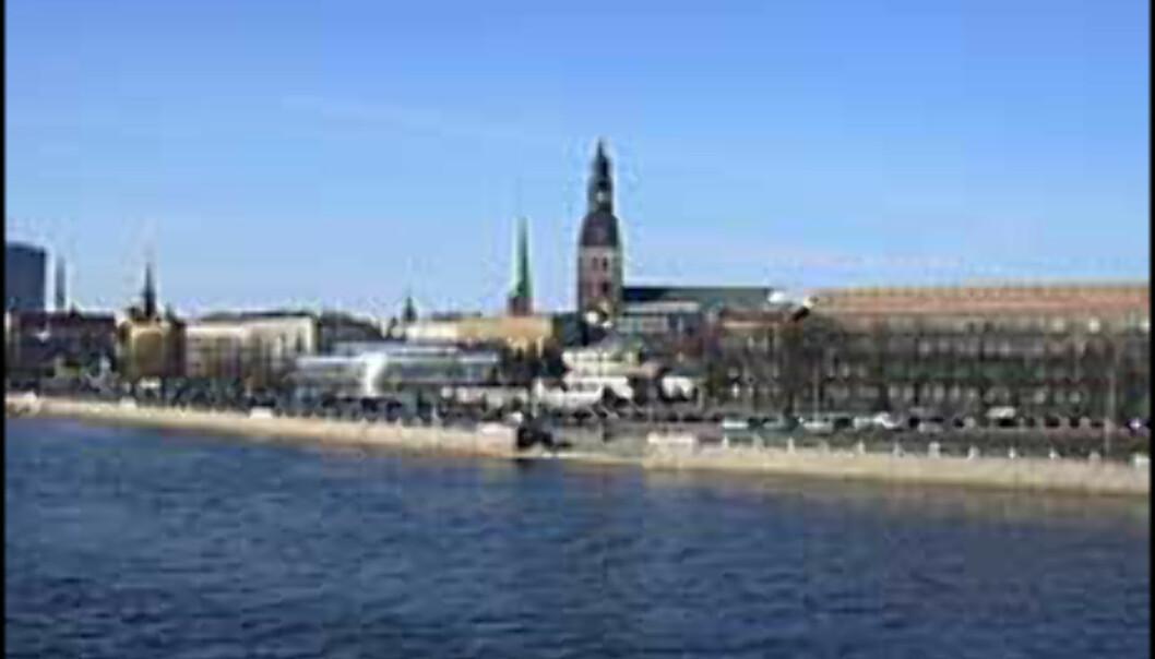 Riga er renest. Foto: Rigas turistkontor