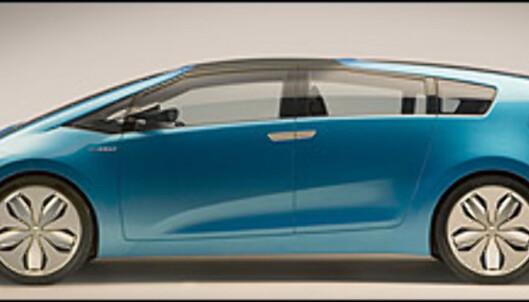 Konseptbilen Hybrid X hinter om hvordan neste Prius kan komme til å se ut som stasjonsvogn