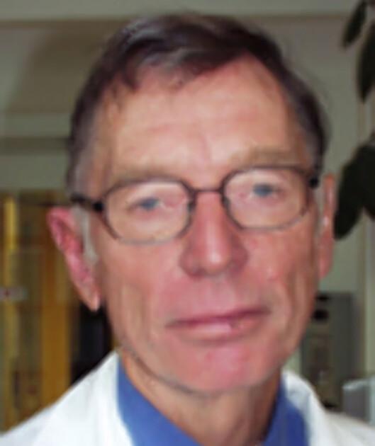 <strong>PRISVINNER:</strong> Overlege Rolf Kåresen. Foto: Ullevål Universitetssykehus