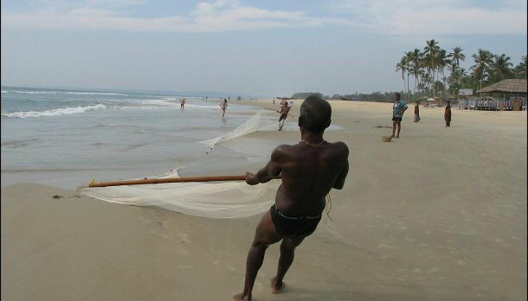 Fiske er næringsveien for mange i Goa. Foto: Haakon F. Stenersen