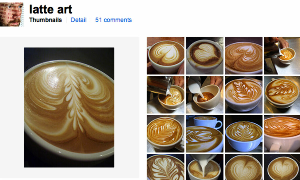 Latte Art (faksimile, Flickr.com)