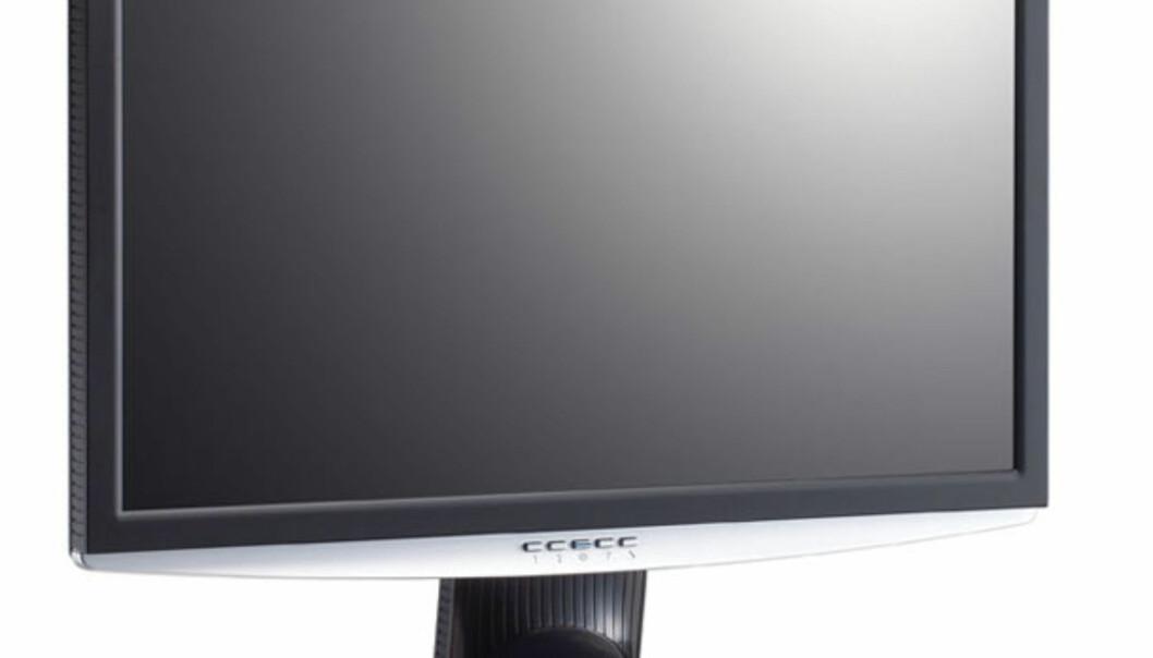 Superskarp LCD fra ViewSonic