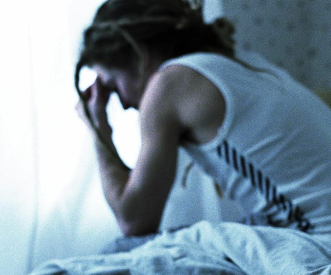<strong>VANSKER:</strong> En av fem unge vil en eller annen gang slite med psykiske vansker. Illustrasjonsfoto: Colourbox.com Foto: Colourbox