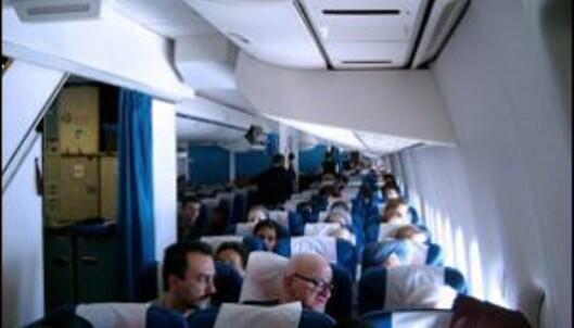 Folk under 30 mest utsatt for blodpropp på fly