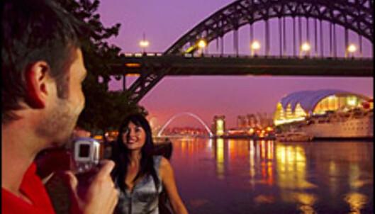Bergensere kan reise til Newcastle for 780 kroner! Foto: Britain on View