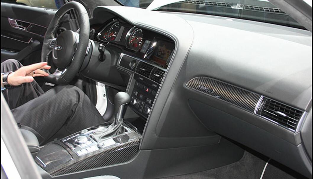 Interiør - Audi RS6