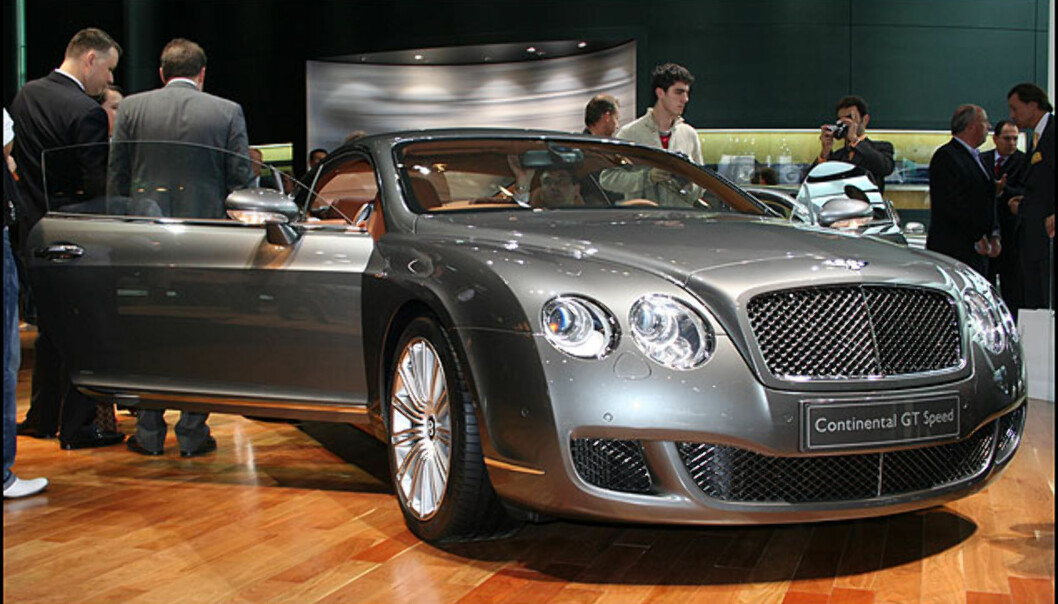 Bentley Continental GT Speed: 12 sylindre, 600 hestekrefter