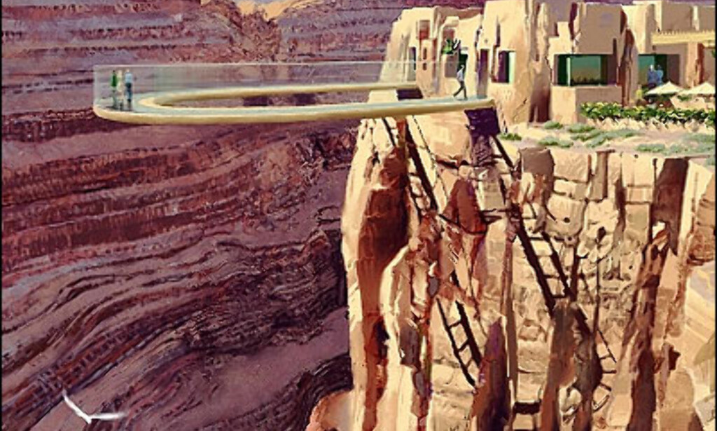 Grand Canyon Skywalk. Foto: MRJ Architects