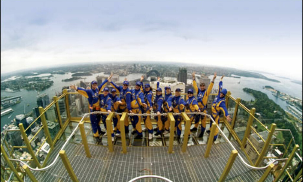 Sydney Tower Skywalk. Foto: Sydney Tower Skywalk