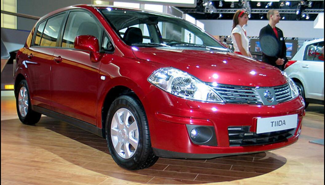 Nissans nye kompaktbil, Tiida