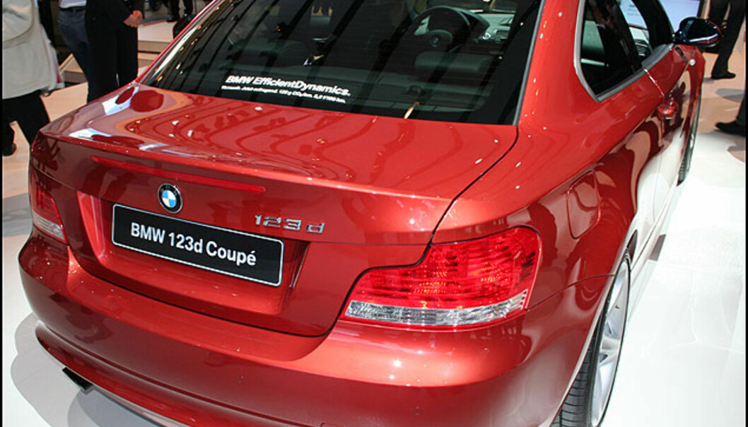 BMW 1-serie kupé