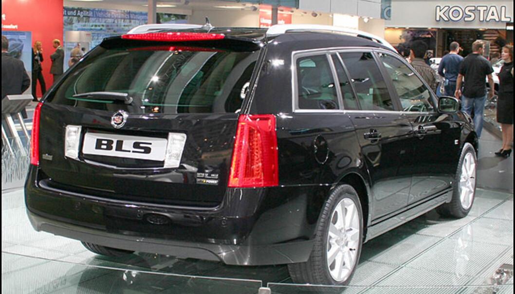 Svensk-produserte Cadillac BLS - nå som stasjonsvogn