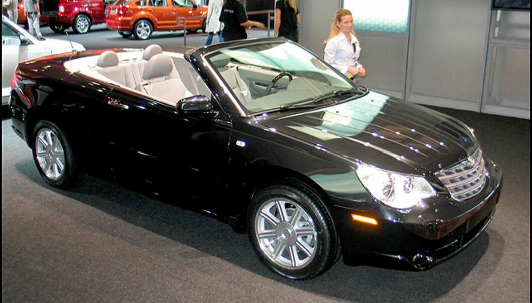 Chrysler Sebring kabriolet