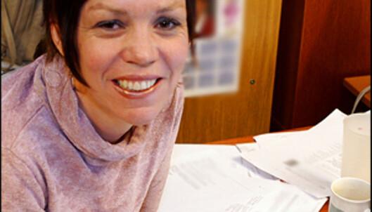 - I begynnelsen ble jeg provosert, nå tar jeg det meste humoristisk, sier Ann Kristin Bentzen Ernes i digi.no.<br /> <i>Foto: Per Ervland</i>