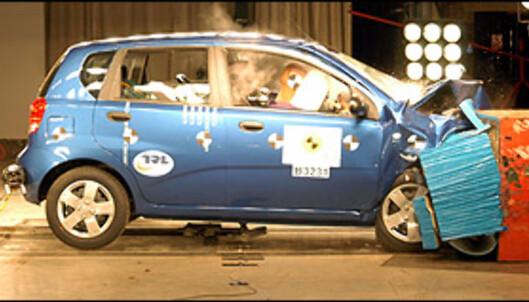 <strong>Chevrolet Kalos:</strong> 17 poeng, 3 stjerner.
