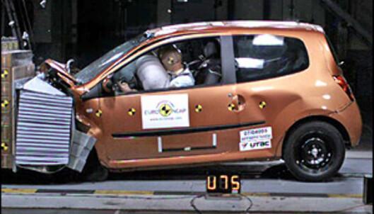 <strong>Renault Twingo:</strong> 28 poeng, 4 stjerner.