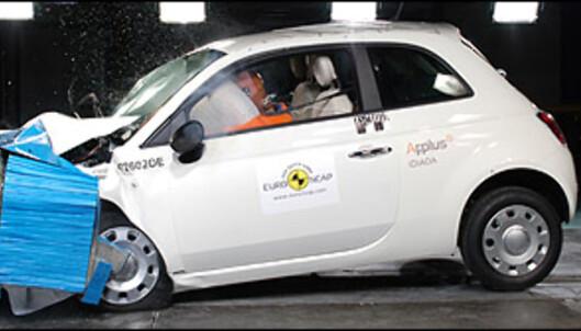 <strong>Fiat 500:</strong> 35 poeng, 5 stjerner.