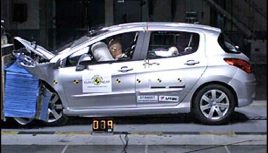 <strong>Peugeot 308:</strong> 34 poeng, 5 stjerner.