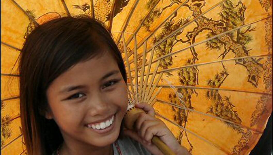Brede smil møter deg overalt i Thailand. Foto: Erika Silva