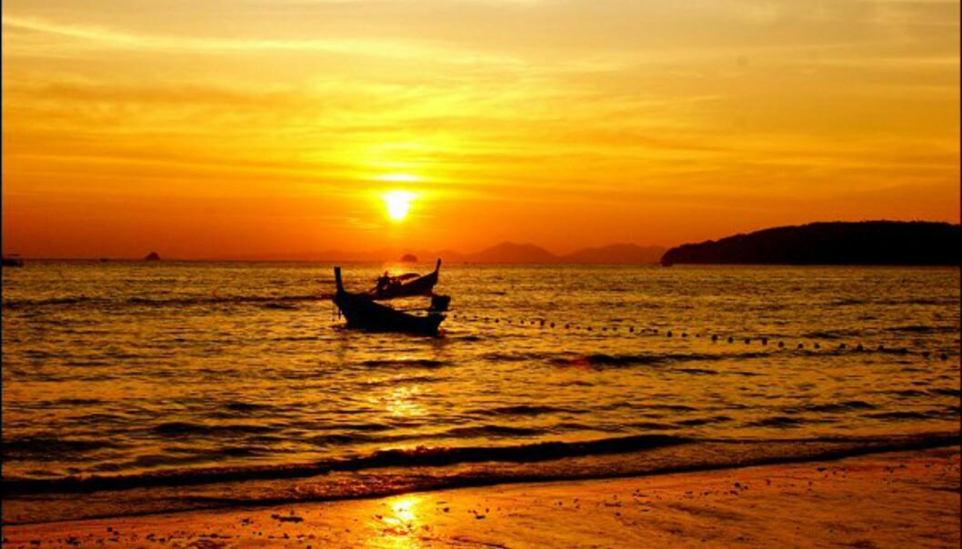 Noen av verdens vakreste strender ligger i Thailand.