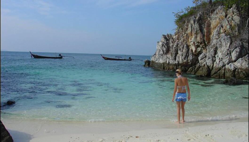 Det er badetemperaturer i Thailand når vi har høst og vinter.