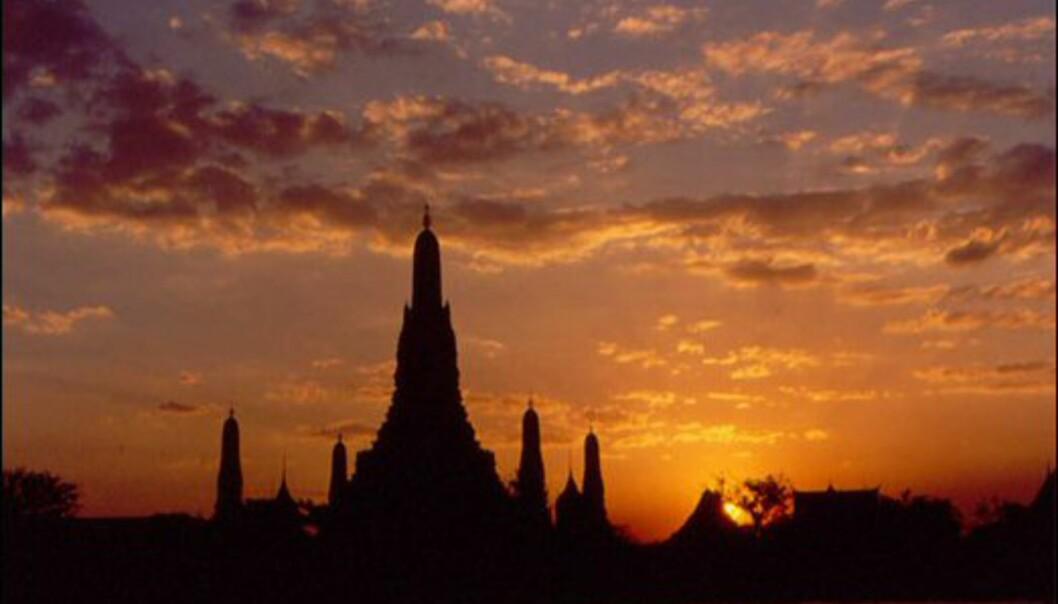 Wat Arun, Morgengryets tempel i Bangkok. Her bør du selvsagt stå opp tidlig for å oppleve det i sitt rette element. Foto: Tourism Thailand