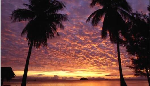 Men solnedgangen er like vakker. Her fra Ko Chang-øyene i provinsen Trat. Foto: Tourism Thailand