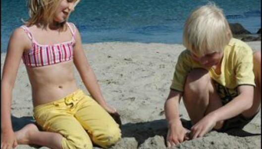 Sol, hav og lange sandstrender på Lista. Foto: Tore Neset